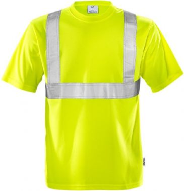 Fristads High Vis T-Shirt CL 2 7411 TP (Hi Vis Yellow)